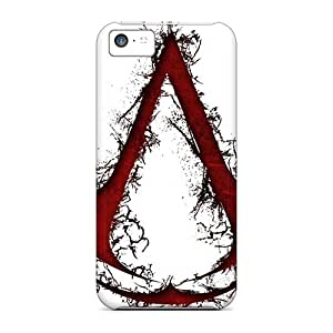 LifeLeader Case Cover Protector Specially Made For Iphone 5c Assassins Creed
