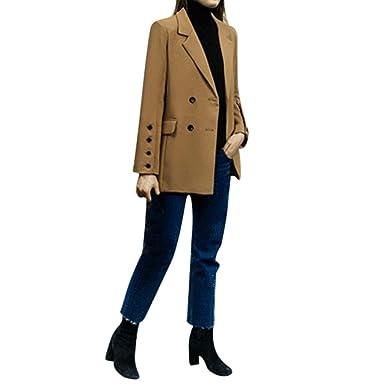 Blouson Longra Blazer Manteau Vintage Mi Femme Veste Cardigan Saison xIFqR8q