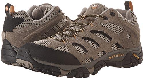 Merrell Pour De Homme Chaussures Randonne Vent Marron noyer Moab Fqpw6rF