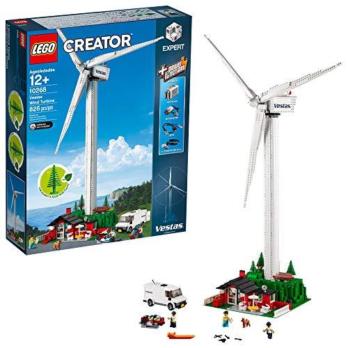 (LEGO Creator Expert Vestas Wind Turbine 10268 Building Kit , New 2019 (826Piece))