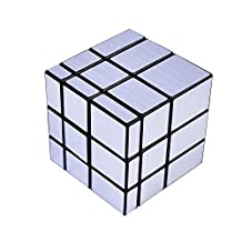 DAXIN DX 3 x 3 Silver Mirror Cube Magic Speed Puzzles Unequal Cube Puzzle Games Toys ABS Ultra-smooth Professional Twist Cube