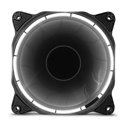17 opinioni per anidees AI Halo Nebula White ventola da 120mm con elevato flusso d'aria e