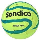 Sondico 32 Panel Juniors Training Indoor Soccer Size 4 Lime Green