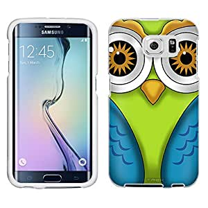 Samsung Galaxy S6 Case, Snap On Cover by Trek Owl Case