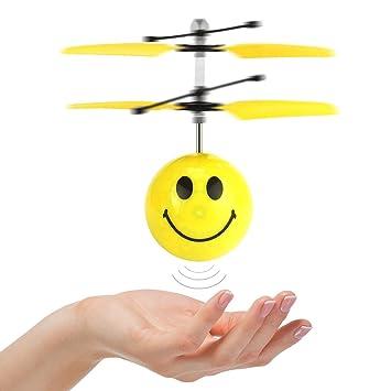 TOPTOY - Helicóptero Volador para niños y niñas, style2: Amazon.es ...