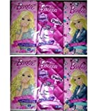 Barbie - Two 6 Packs - 10 2-ply Pocket Tissues