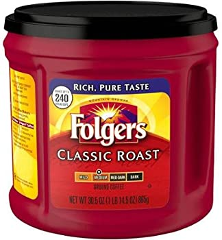 Folgers Classic Roast Regular 30.5 oz. Ground Coffee Can