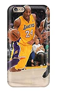 Boast Diy Awesome DanRobertse Defender case cover For iWYmxtk6jZM Iphone 6- Los Angeles Lakers Basketball