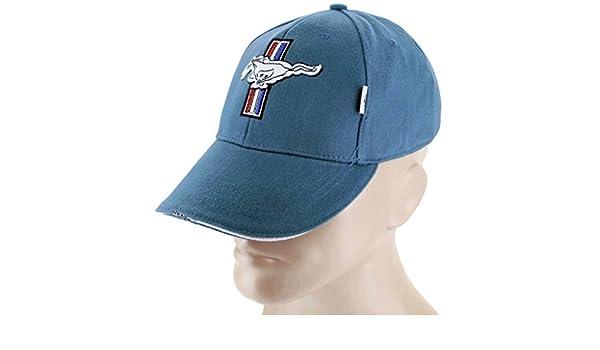6a192dc8e1e7ca DanteGTS Ford Mustang Blue Baseball Cap Trucker Hat Snapback 5.0 Liter GT  Cobra Shelby Baseball Caps ...