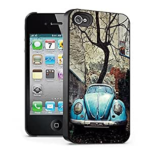 Car Pattern 3D Effect Case for iPhone4/4S