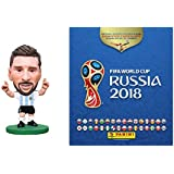 2018 World Cup Panini World Cup Stickers Starter Pack & Messi Argentina SoccerStarz Combo