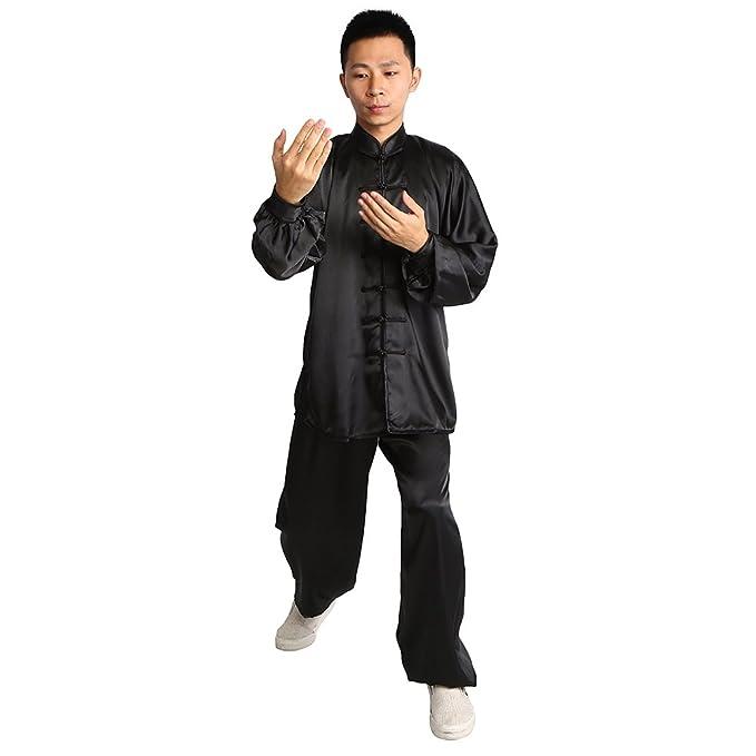 Amazon.com: Kung Fu Tai Chi Traje Uniforme Artes Marciales ...