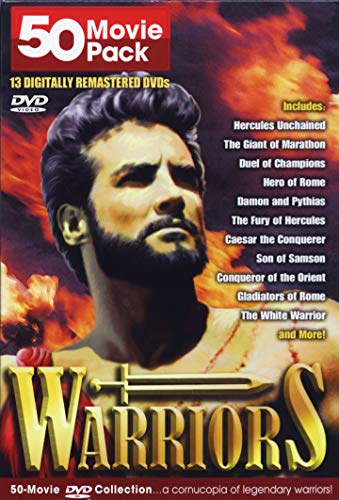 Warriors // 50 Movie Pack Collection / 13 Dvd (B-50 Balanced)