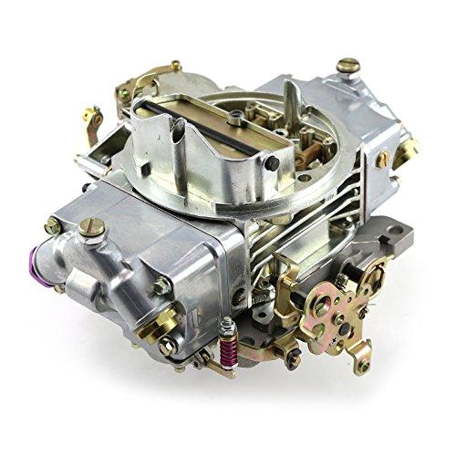 600 CFM Zinc-Chrome 4-Bbl Vacuum Secondary Carburetor Carb 7/8-20 Inlet