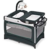 Chicco Lullaby Baby Playard- Empire, Gray