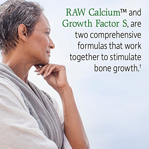 Garden of Life Raw Calcium Supplement - Vitamin Code Grow Bone System Whole Food Vitamin with Strontium, Vegetarian by Garden of Life (Image #2)