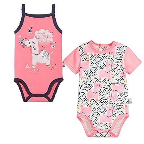 Lot de 2 bodies bébé fille Selma - Taille - 3 mois (62 cm)  Amazon ... 3365e633c5d