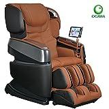 Ogawa Smart 3D Massage Chair w/ Tablet Technology (Cappuccino )