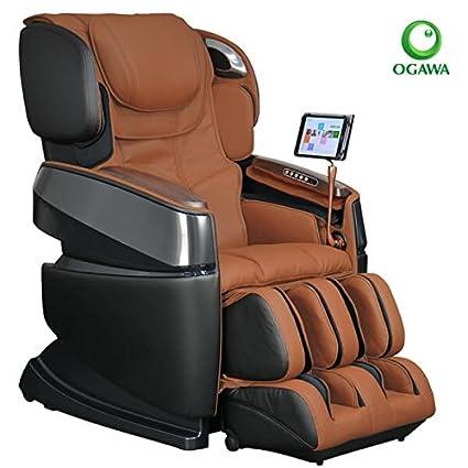 Ogawa Smart 3D Zero Gravity Reclining Massage Chair Black