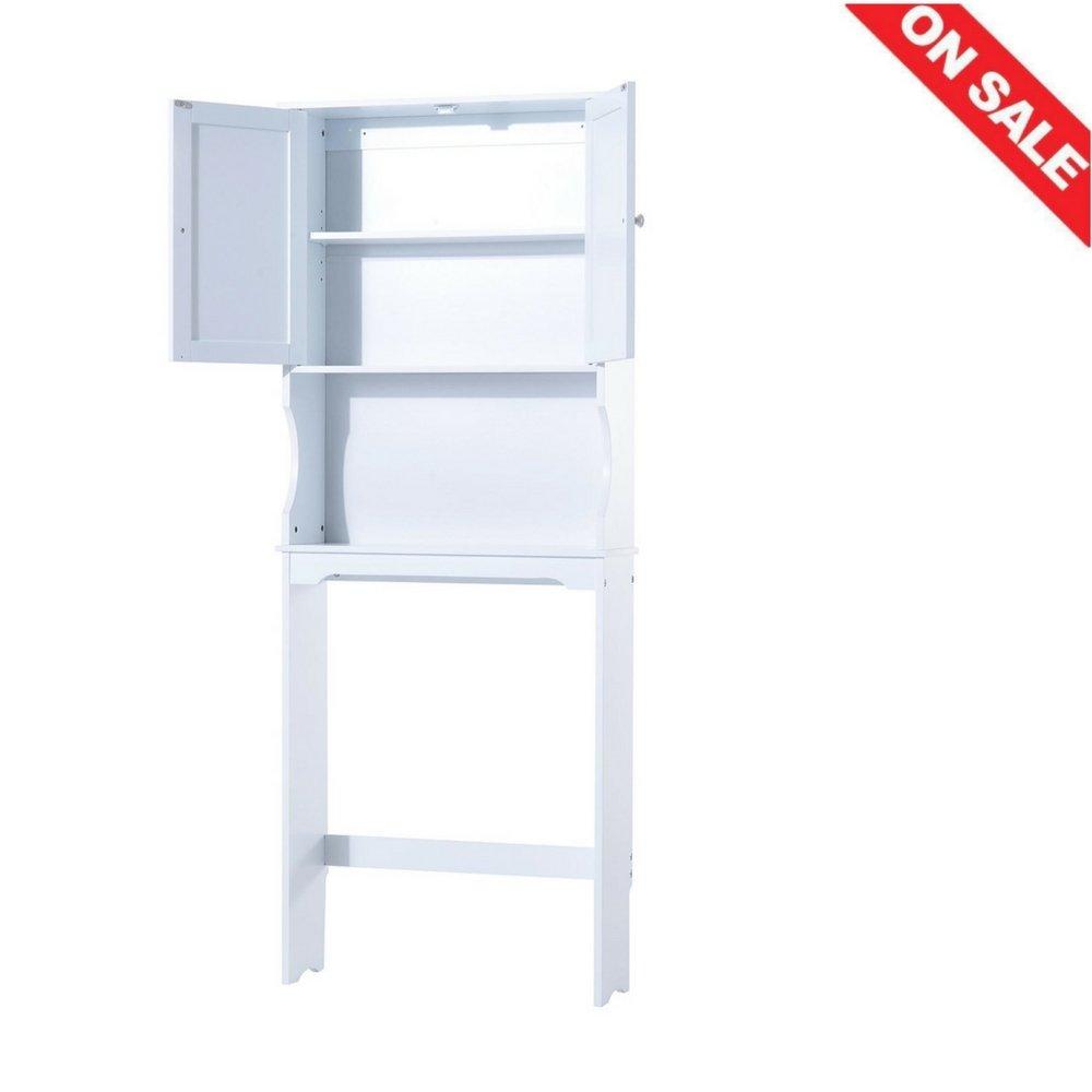 Bathroom Over Toilet Storage Cabinet Bathroom Practical Indoor Cupboard Home Storage Shelves Bathroom Furniture & Ebook by Easy2Find.