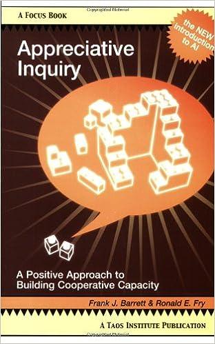 Признательный запрос: позитивный подход к созданию кооперативного потенциала