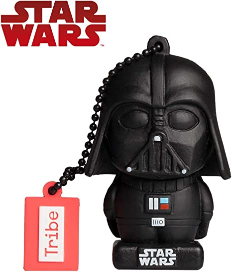 Llave USB 16 GB Darth Vader TLJ - Memoria Flash Drive 2.0 Original ...