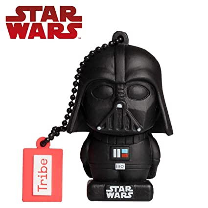 Llave USB 32 GB Darth Vader TLJ - Memoria Flash Drive 2.0 Original Star Wars, Tribe FD030709