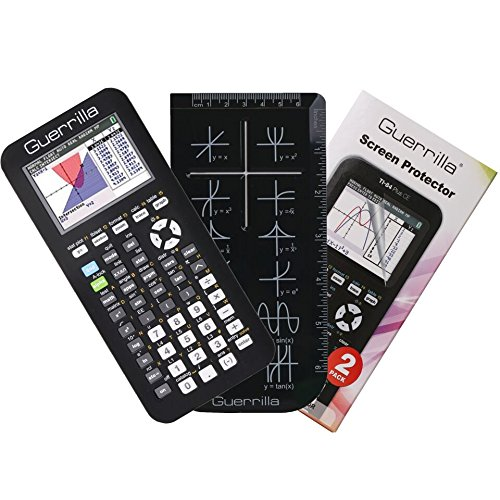 Guerrilla Case Texas Instruments TI-84 Plus CE Edition Calculator With protector and Graphing