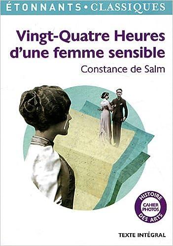 Livre gratuits en ligne Vingt-quatre heures d'une femme sensible pdf