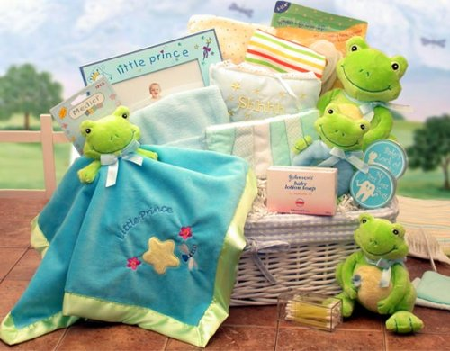 New Baby Gift Basket Just Hoppin in Little Princess Large