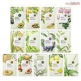[the SAEM] Natural Facial Mask Sheet 21ml x 13 Sheets