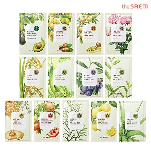 [the SAEM] Natural Facial Mask Sheet 21ml x 13 Sheets
