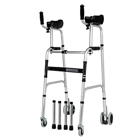 XIANWEI Caminante Plegable Andador De Aluminio para El Hogar ...