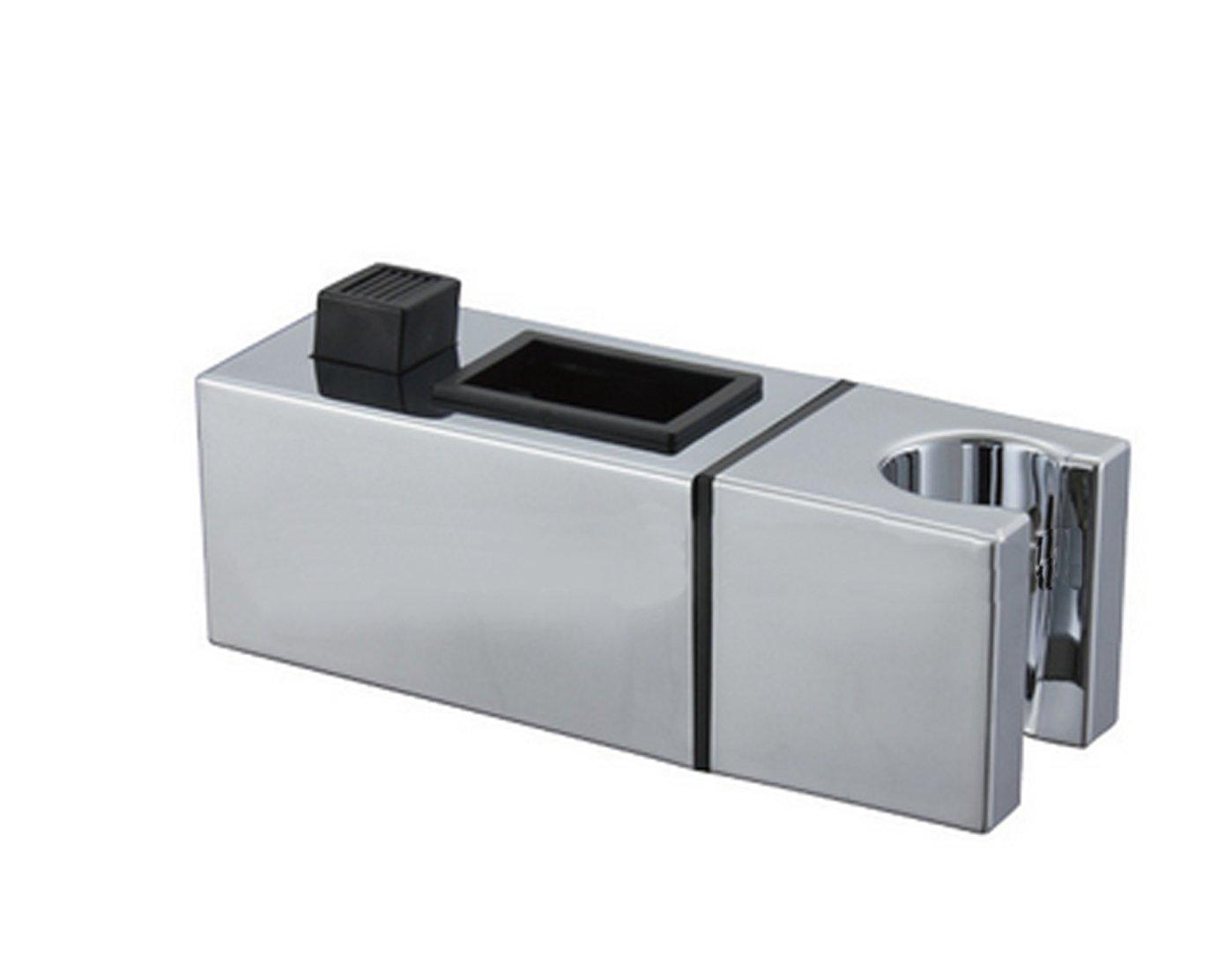 /ABS Chrom/é pour douchette yiyida T/ête de douche Support douchette Support pour barre Place Lubrifiant standard 22/x 22/mm/