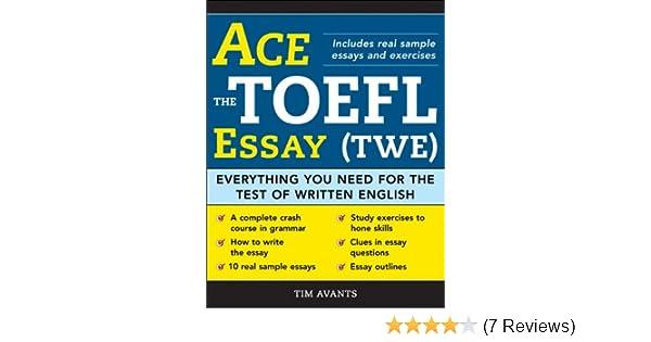 toefl essay format