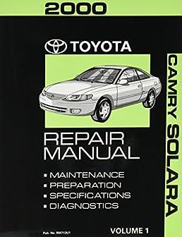 toyota solara 2000 repair manual open source user manual u2022 rh dramatic varieties com 2000 toyota avalon repair manual 2006 Toyota Avalon