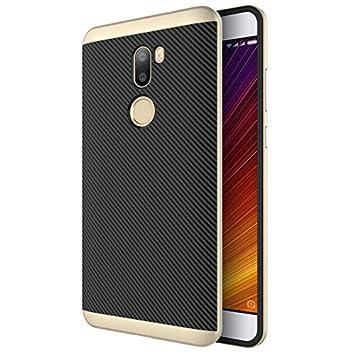 Moonmini Funda Xiaomi Mi 5s Plus Carbon Fiber Carcasa, reg ...