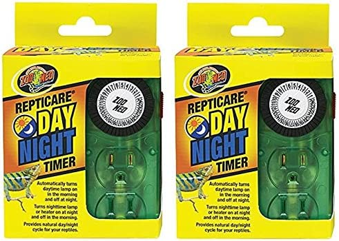 (2 Pack) Zoo Med Repti Day Night Timers 51hDwS4Gs7L