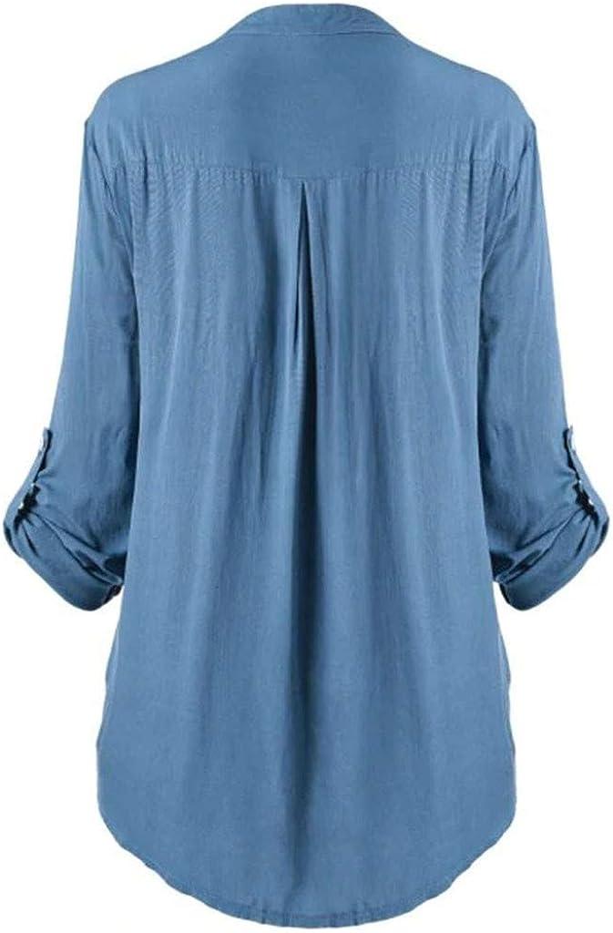 Tianjinrouyi Womens Shirts Print Tunic Tops Blouse T-Shirt For Ladies Teen Girls