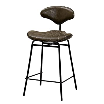Bar Chairs Iron Bar Chair European Bar Chair Raised And Lowered Stool Domestic Backrest Barstool Vintage Coffee Front Desk Chair
