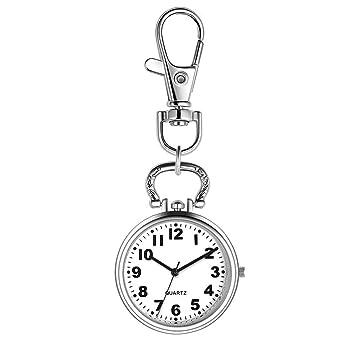 FGF Nurse Pocket Watch Digital analógico Llavero electrónico ...