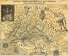 Captain John Smith\'s map of Virginia, 1612: Worthington Chauncey ...