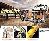 VULCAN The Original Quick Click Height Stick