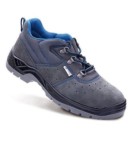 Anibal Scorpio - Zapato piel serraje perforada (46, seguridad)