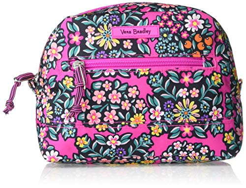 Vera Bradley Lighten Up Medium Cosmetic, Kaleidoscope Rosettes