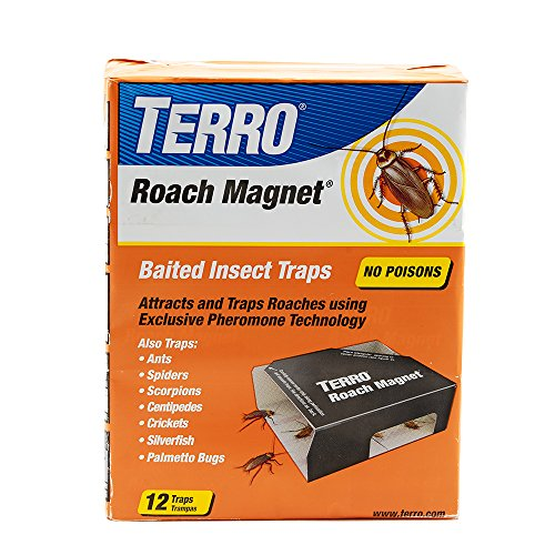 - Terro T256 Roach Magnet Trap with Exclusive Pheromone Technology