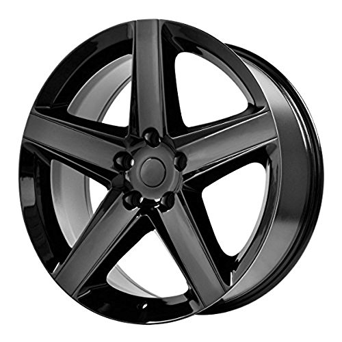 OE Creations | 129B-297334 | 20 Inch | Grand Cherokee SRT8 | PR129 Wheel/Rim | Black | 20x9 Inch | 5x5.0/5x127.00 | 34mm (Grand Cherokee Srt8 Rims compare prices)