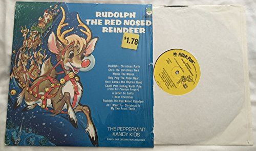 (Rudolph The Red Nosed Reindeer Vinyl LP Record)