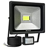 MEIKEE LED Motion Sensor Flood Light, 50W Security Lights with Motion Sensor, Super Bright 5000 Lumen, IP66 Waterproof, 12m PIR Sensor Distance, Ideal for Garden, Car Park, Forecourt and O