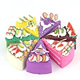 DECORA High Artificial Food Cake Refrigerator Magnets 8pcs